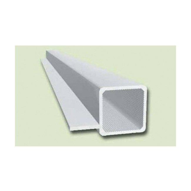 aluminiumprofil vierkant 1 steg 15mm rana terrarienbau. Black Bedroom Furniture Sets. Home Design Ideas