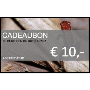 Gutschein von 10 Euro