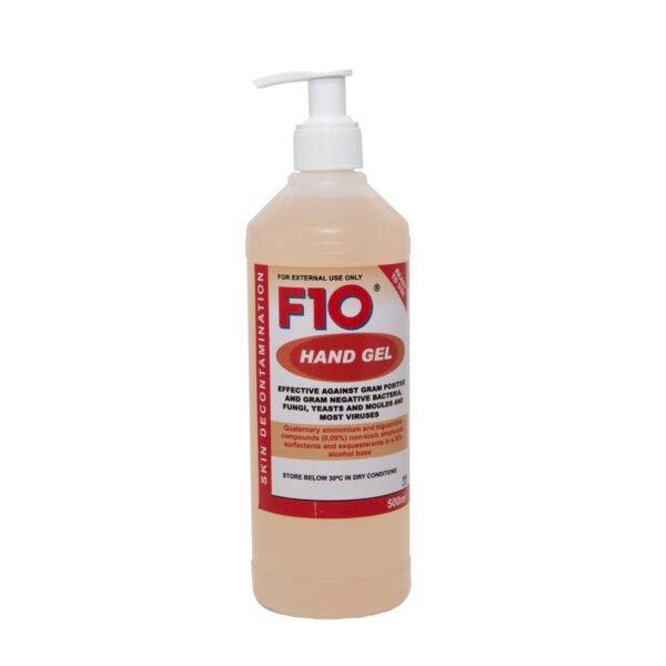 F10 SC Desinfektionsmittel Handgel 500 ml